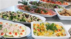 Durlev Goumæt frokostordning buffet